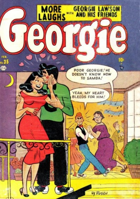 Georgie Comics  35 Cover Image