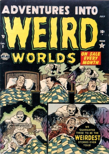 Adventures Into Weird Worlds 8 Cover Image