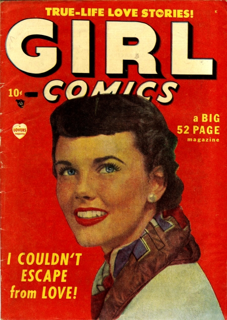 Girl Comics 1 Cover Image