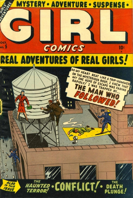 Girl Comics 5 Cover Image