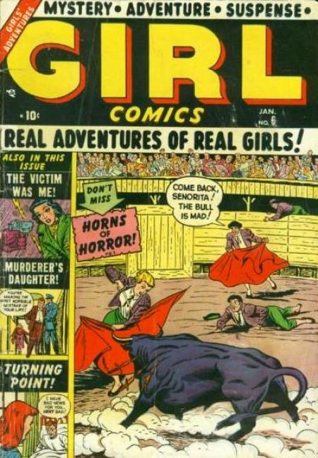 Girl Comics 6 Cover Image
