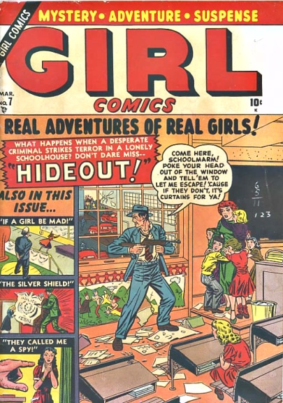 Girl Comics 7 Cover Image