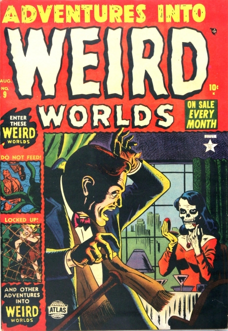 Adventures Into Weird Worlds 9 Cover Image