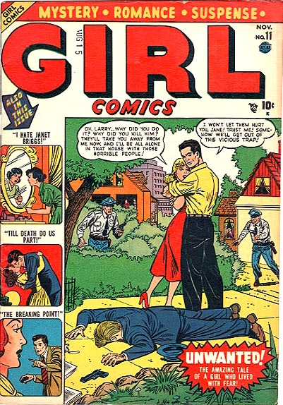 Girl Comics 11 Cover Image