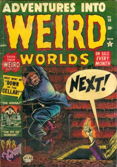 Adventures Into Weird Worlds 10 Cover Image