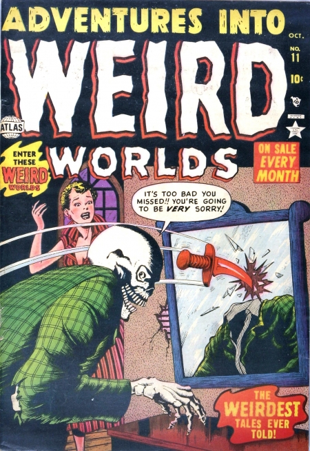 Adventures Into Weird Worlds 11 Cover Image