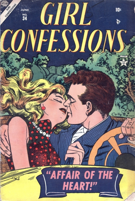 Girl Confessions 34 Cover Image
