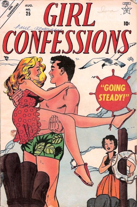 Girl Confessions 35 Cover Image