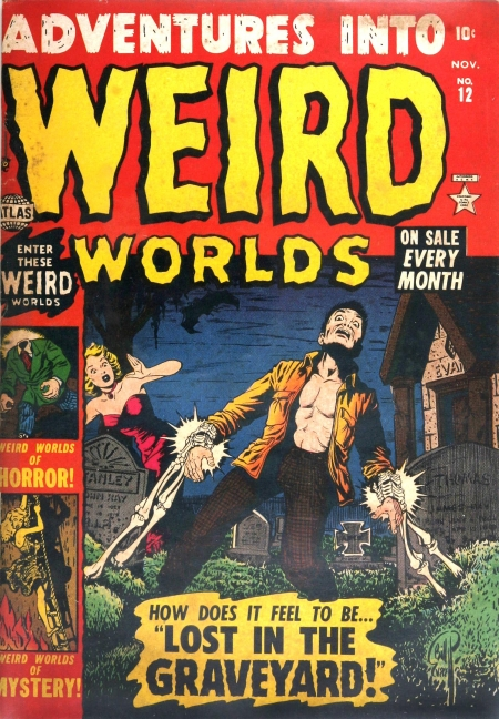 Adventures Into Weird Worlds 12 Cover Image