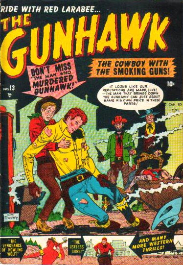 The Gunhawk 13 Cover Image
