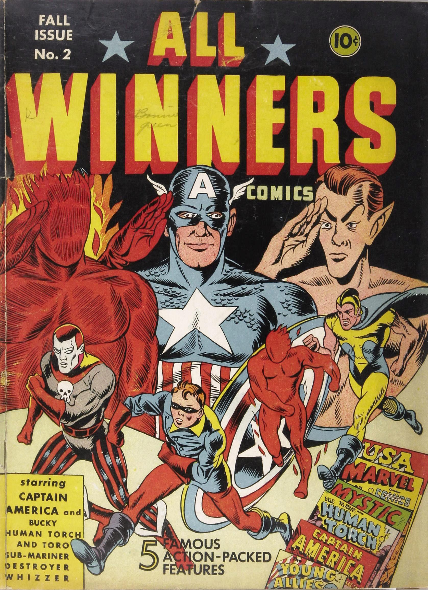 All Winners Comics 2 Story Image