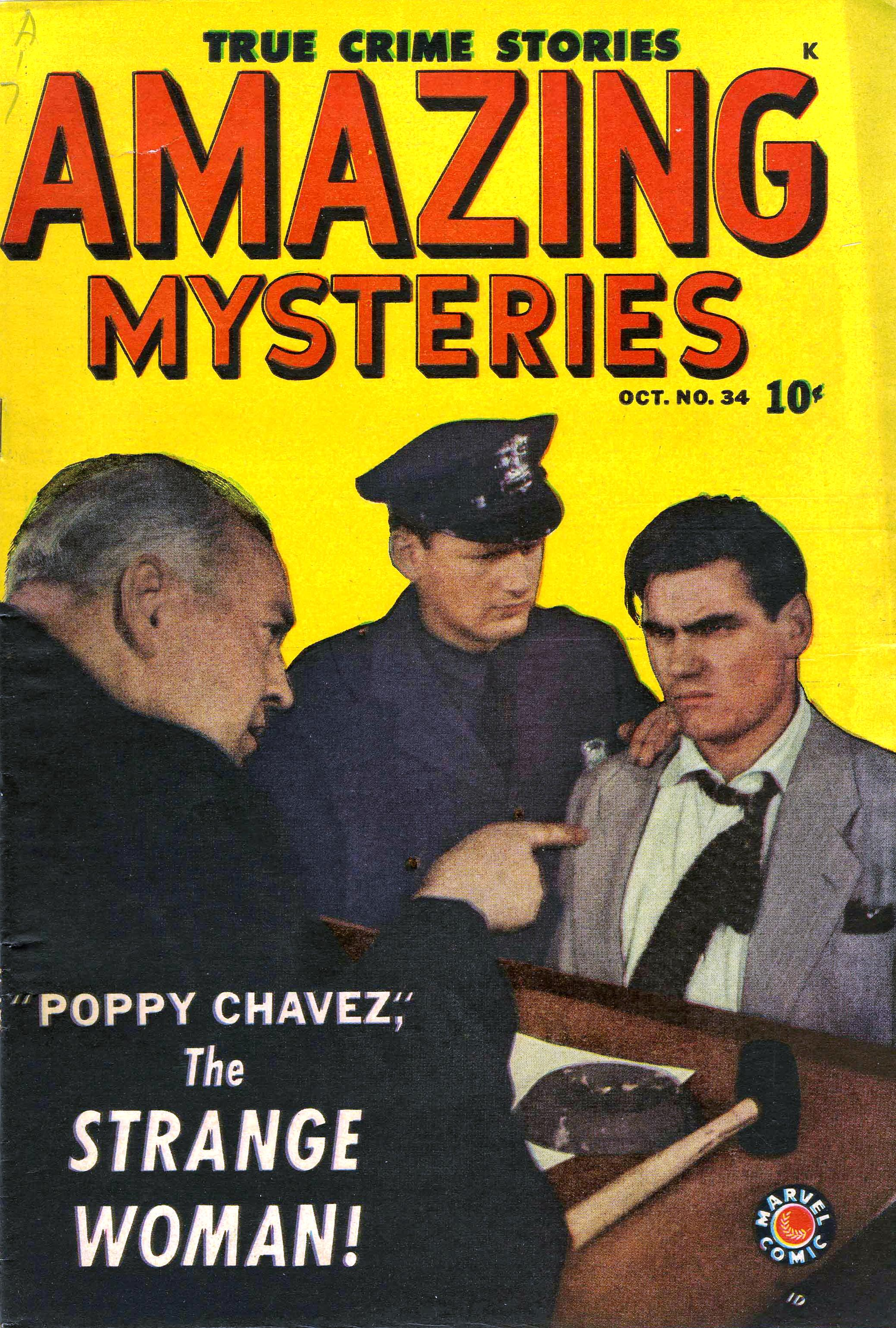 Amazing Mysteries 34 Story Image