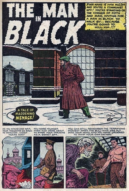 C-289 The Man In Black Page 1
