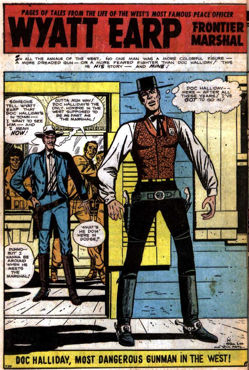 T-310 Doc Halliday, the Most Dangerous Gunman in the West! Page 1