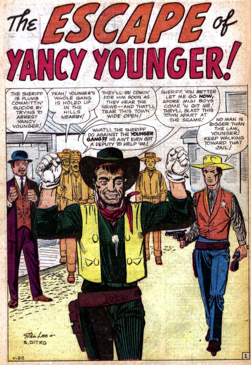 V-312 The Escape of Yancy Younger! Page 1