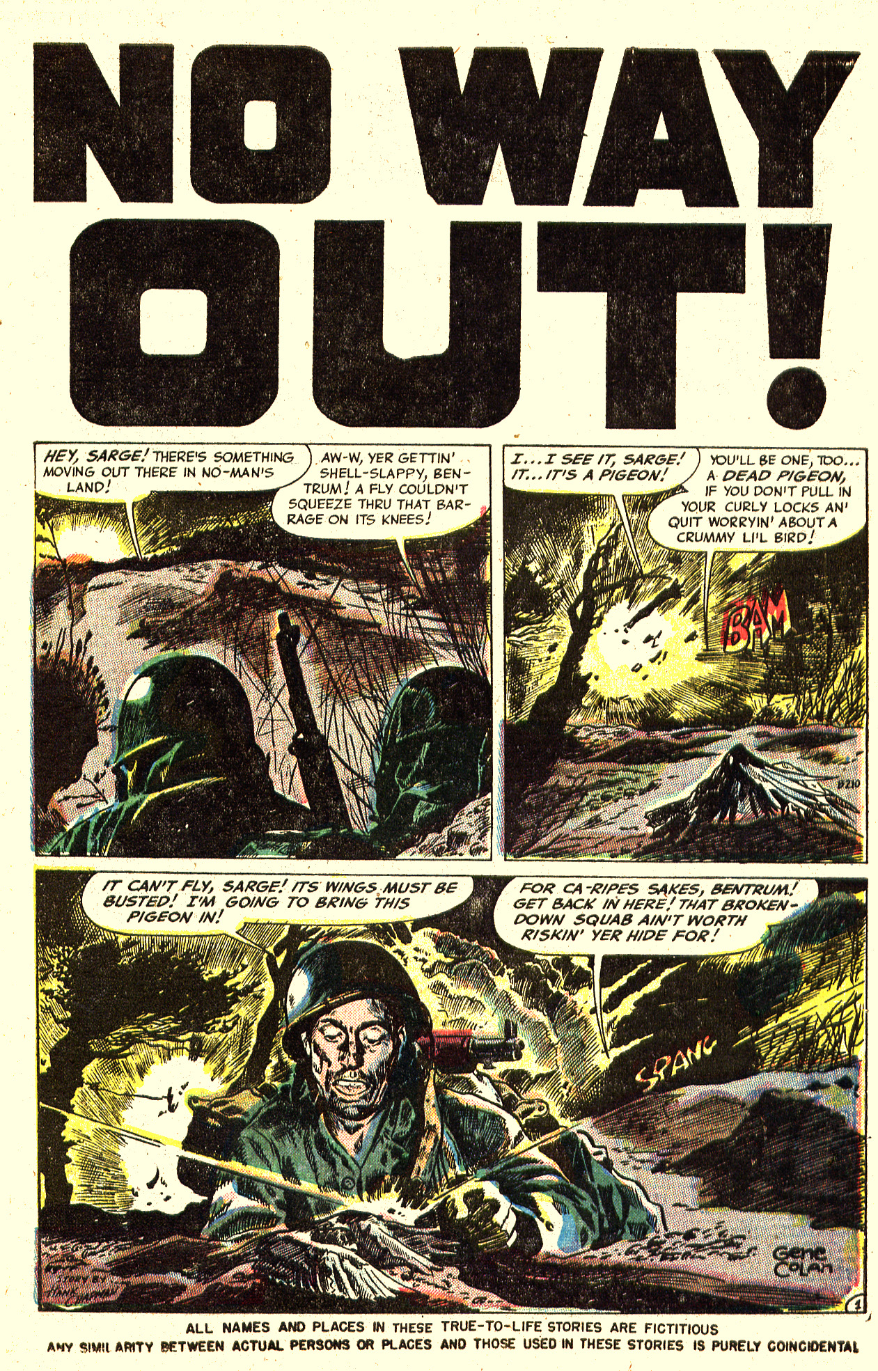 B-210 No Way Out! Page 1