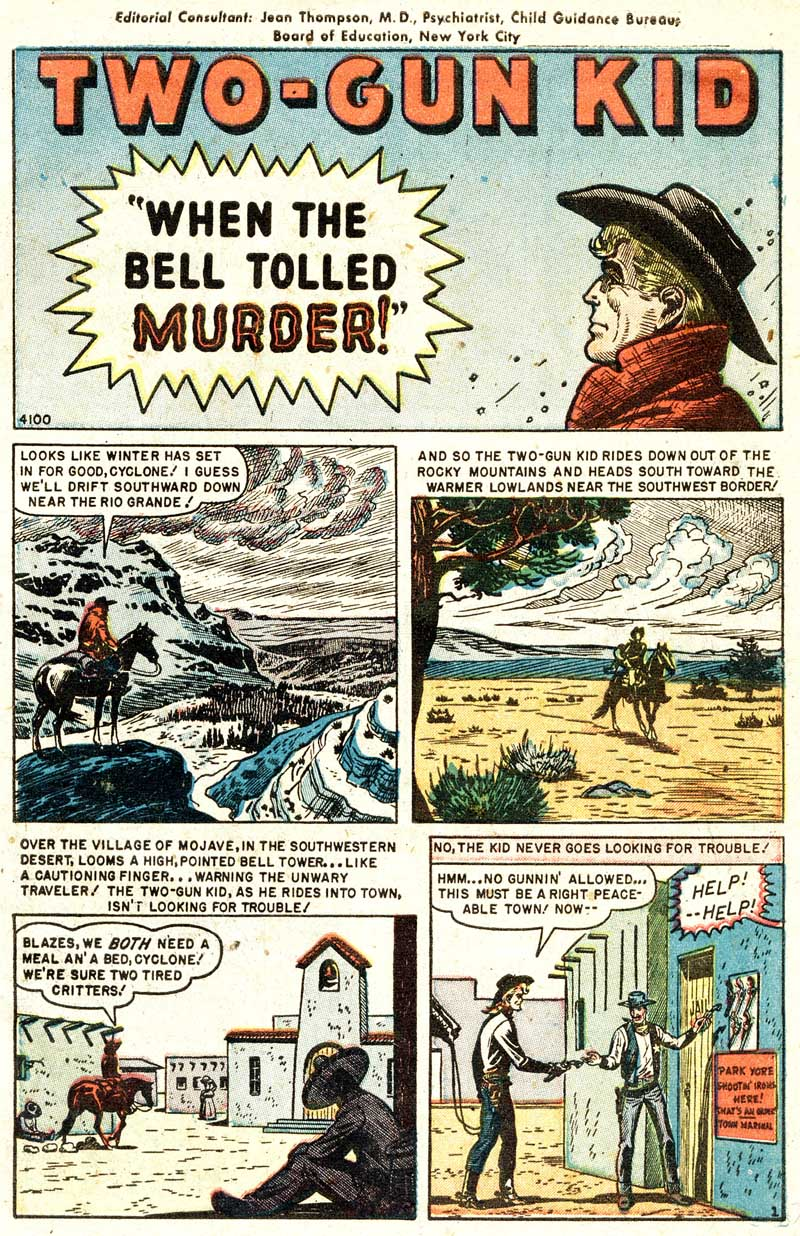 4100 When the Bell Tolled Murder! Page 1