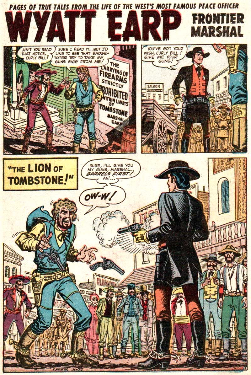 H-77 The Lion of Tombstone Page 1