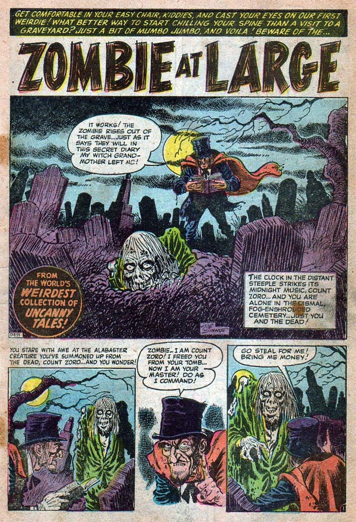 D-491 Zombie At Large Page 1