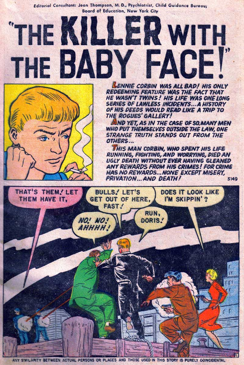 5149 The Killer With The Baby Face! Page 1