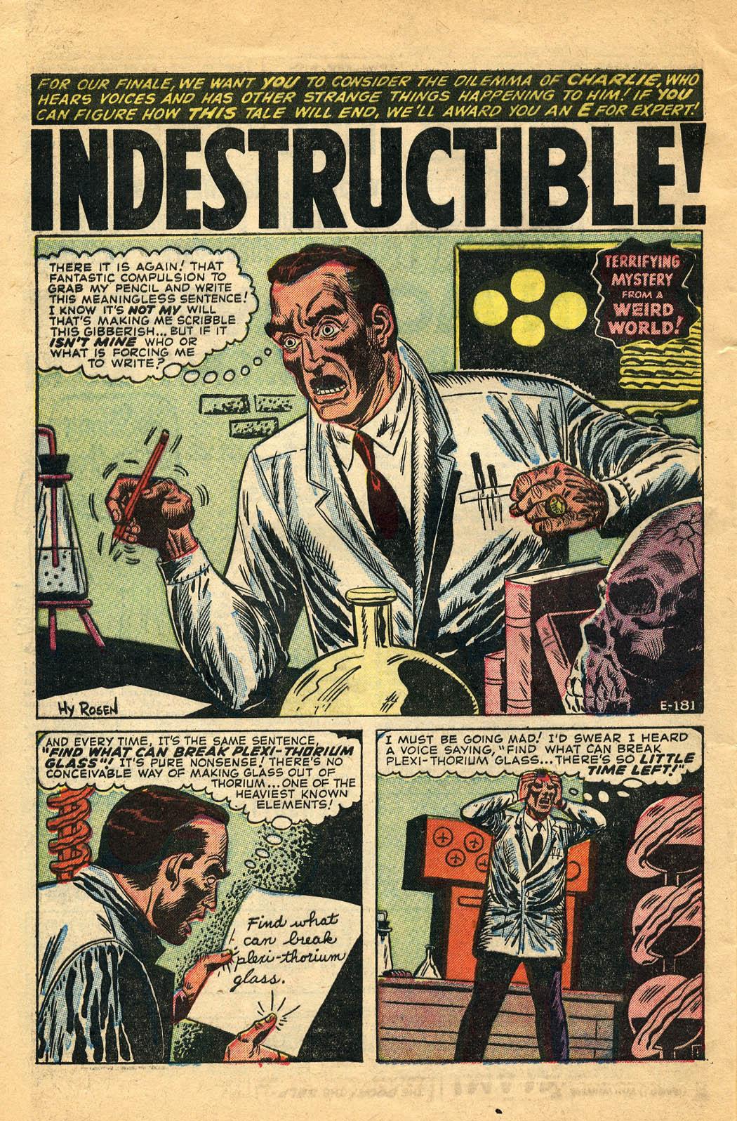 E-181 Indestructible Page 1