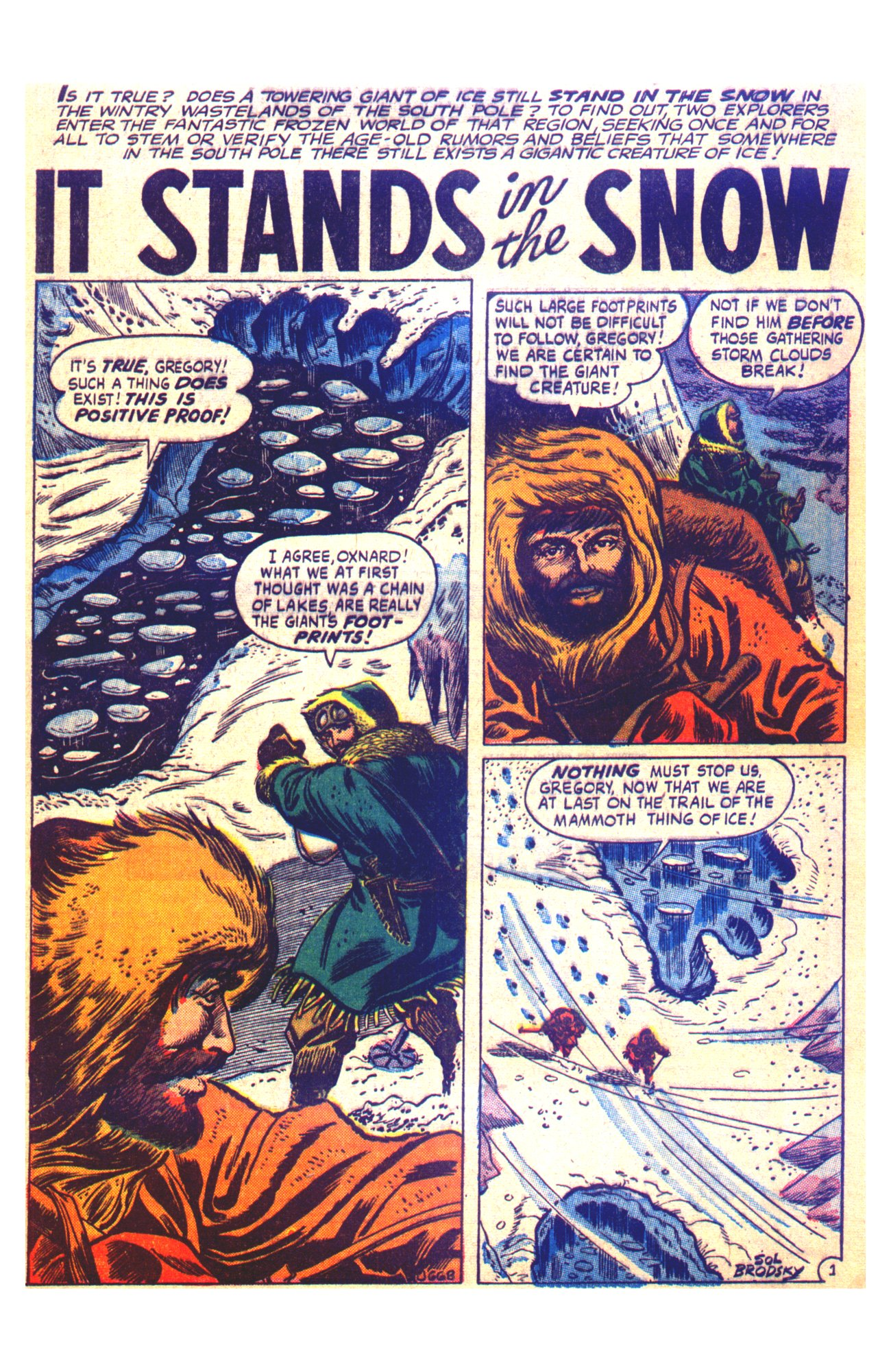 J-668 It Stands in the Snow Page 1