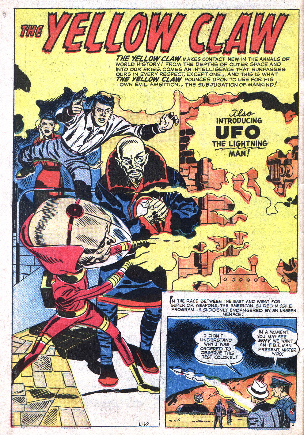 L-69 UFO The Lightning Man! Page 1