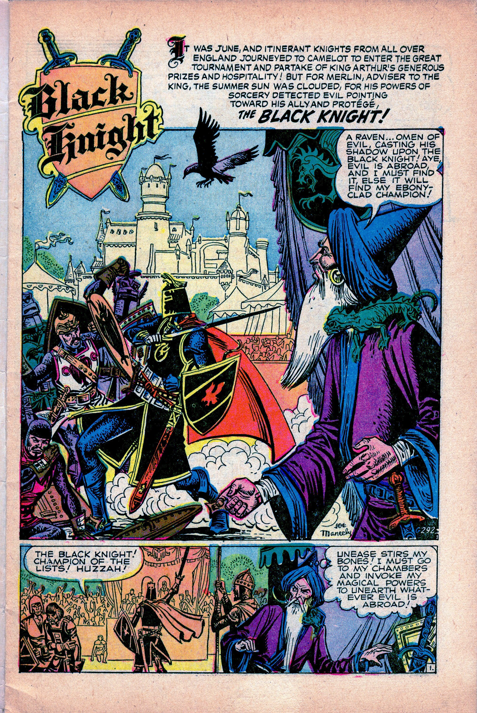 G-292 The Black Knight Unmasked! Page 1