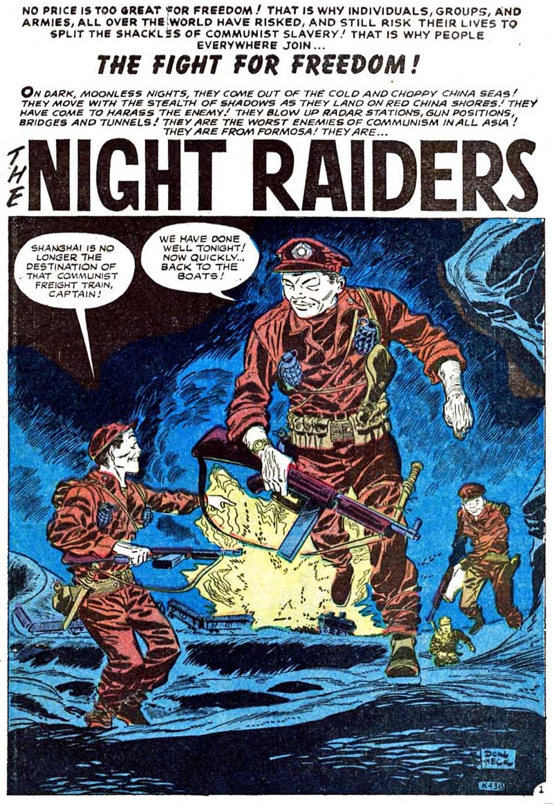 K-438 The Night Raiders  Page 1