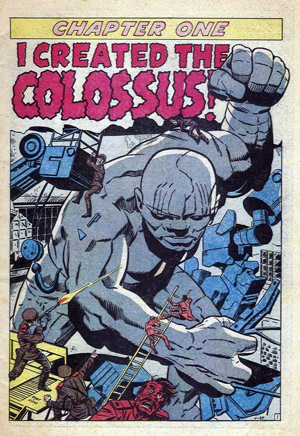 V-57 Chapter One - I Created The Colossus! Page 1