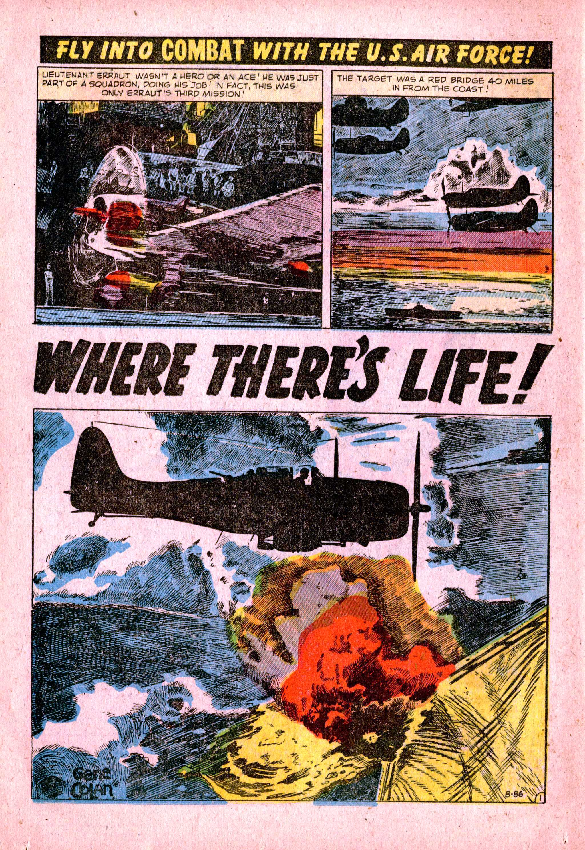 B-86 Where There's Life Page 1