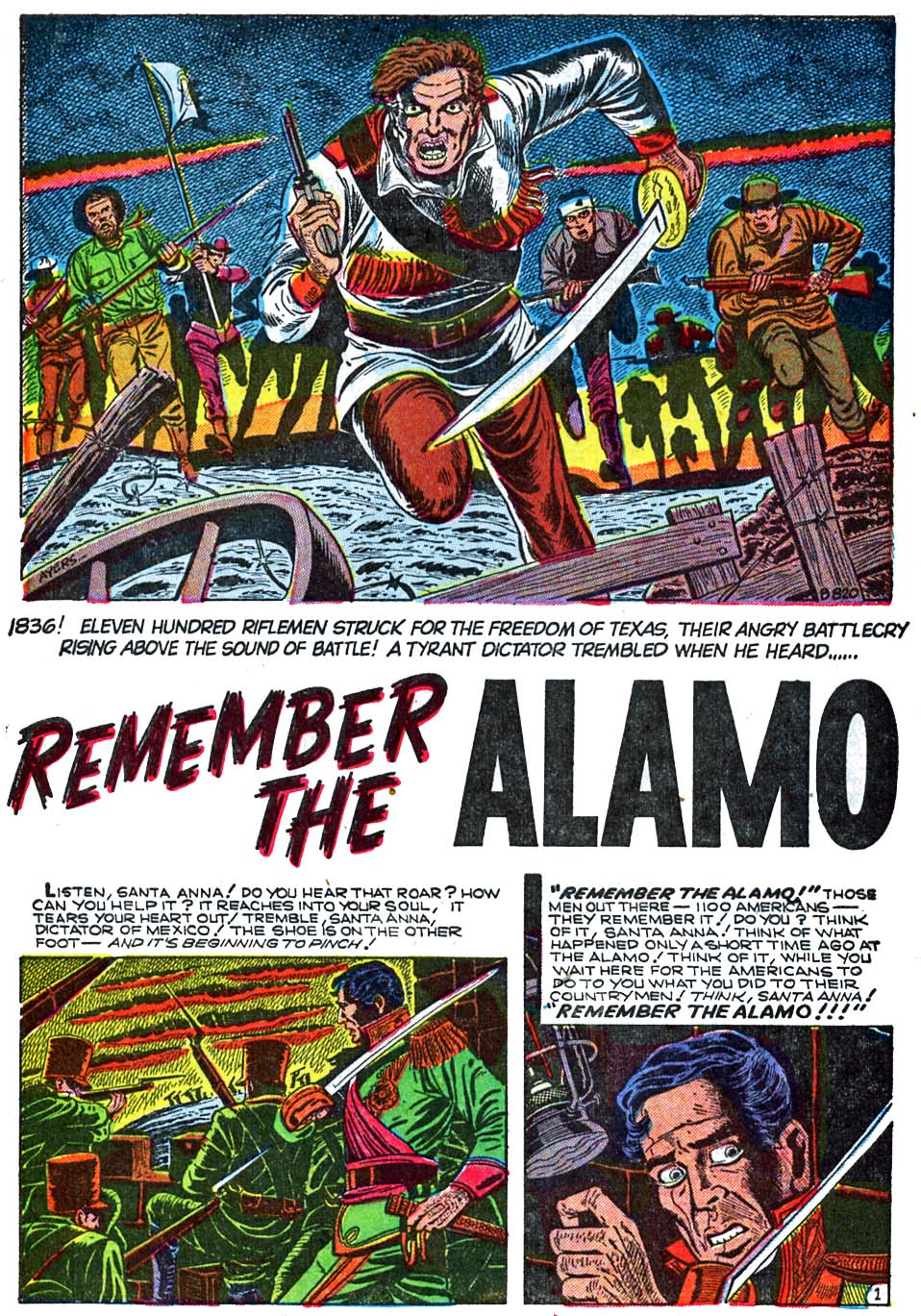 B-820 Remember the Alamo Page 1