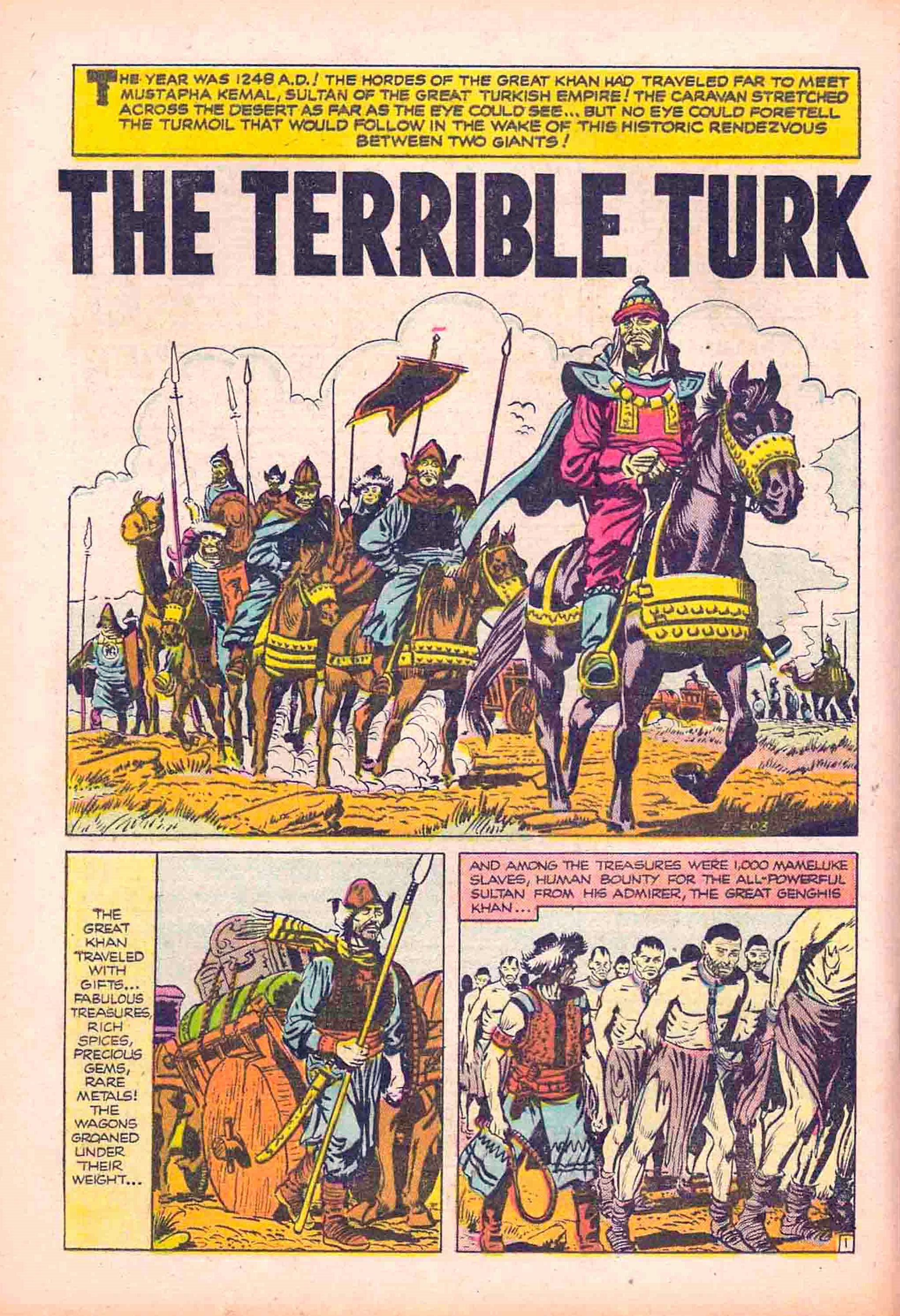 E-203 The Terrible Turk Page 1