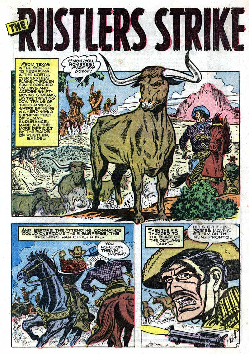 G-373 The Rustlers Strike Page 1