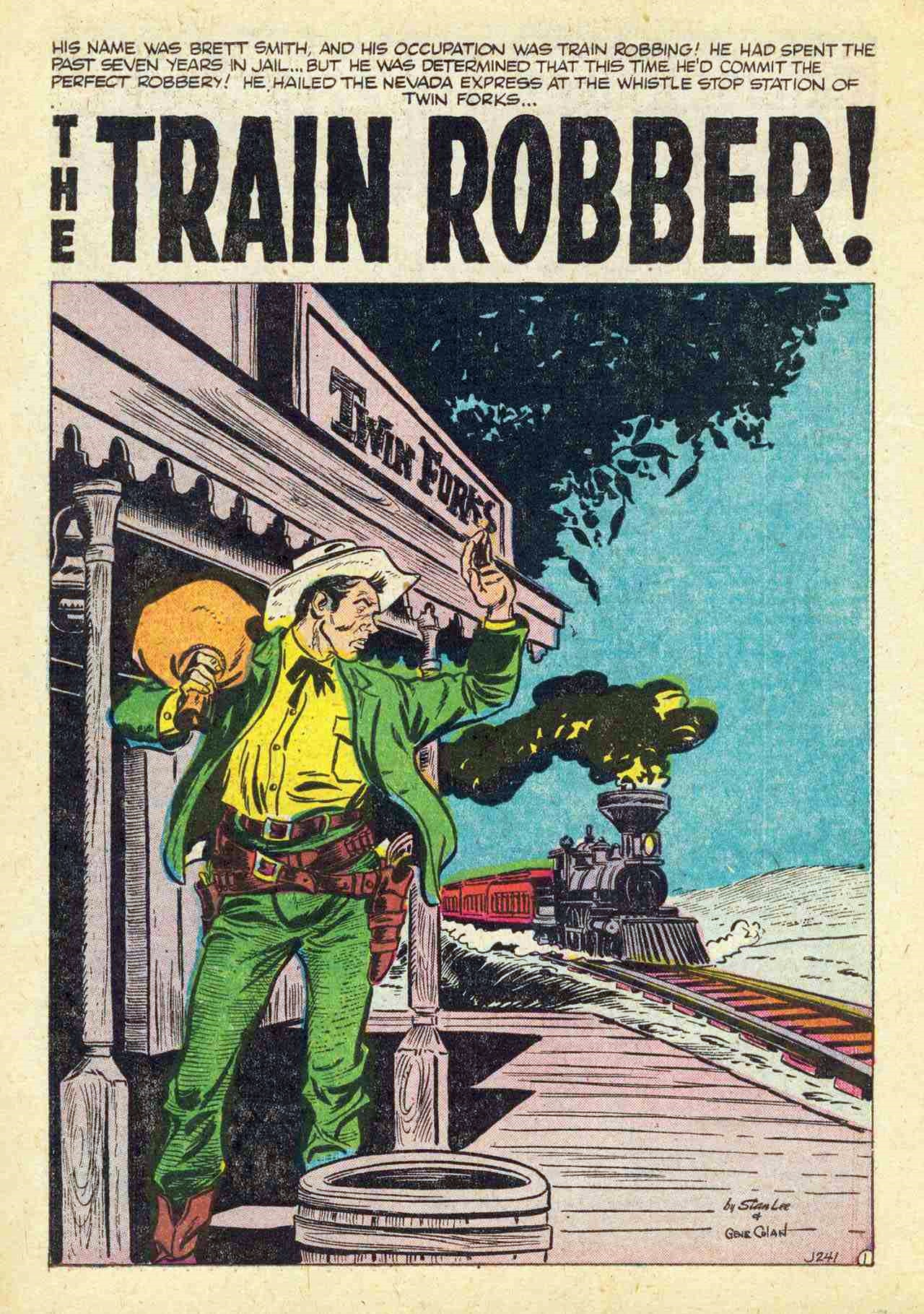 J-241 The Train Robber! Page 1