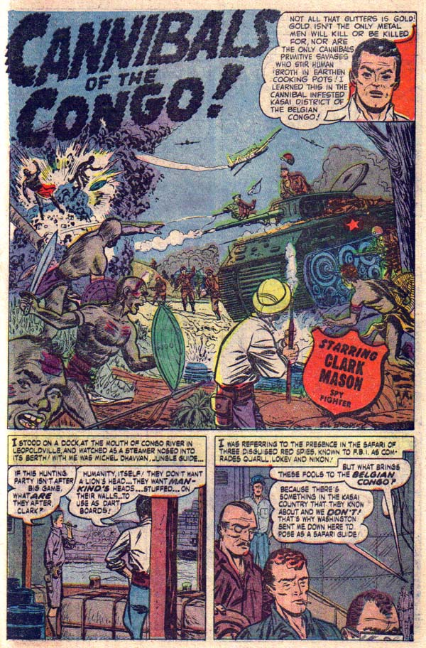9206 Cannibals of the Congo! Page 1