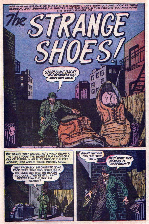 9450 The Strange Shoes! Page 1