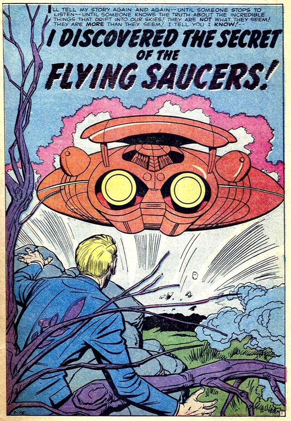 T-76 I Discovered The Secret Of The Flying Saucers! Page 1