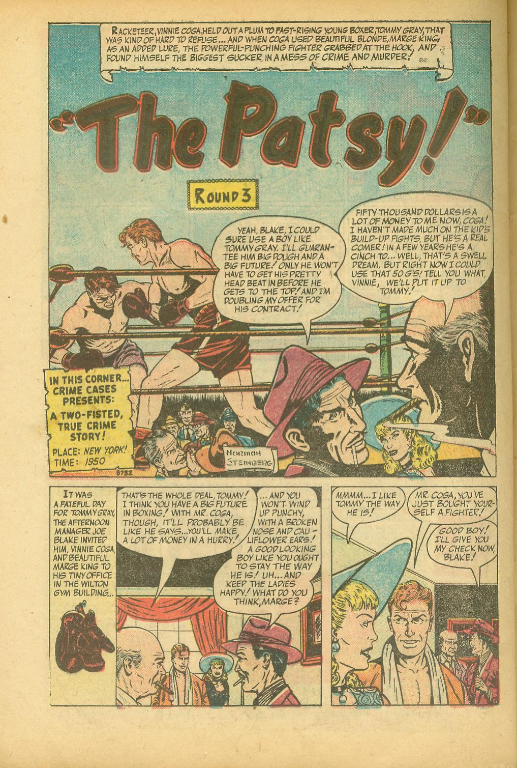 8732 The Patsy! Page 1