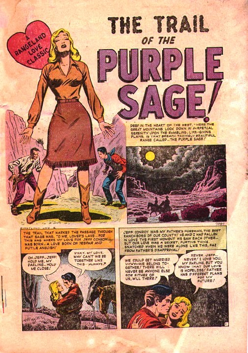 7084 The Trail Of The Purple Sage! Page 1