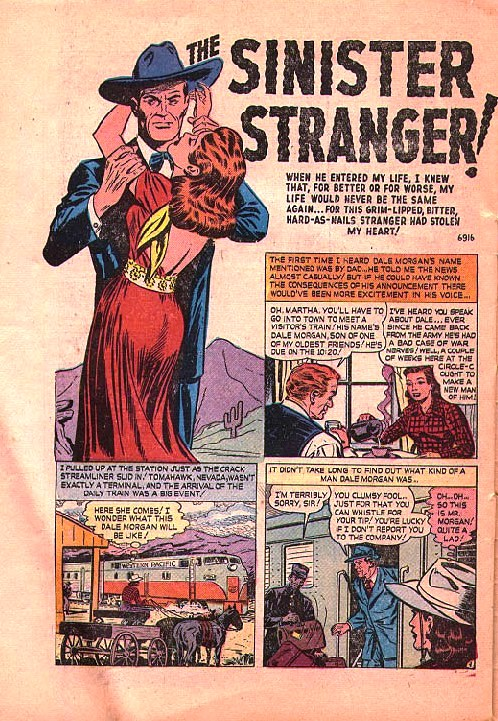 6916 The Sinister Stranger! Page 1
