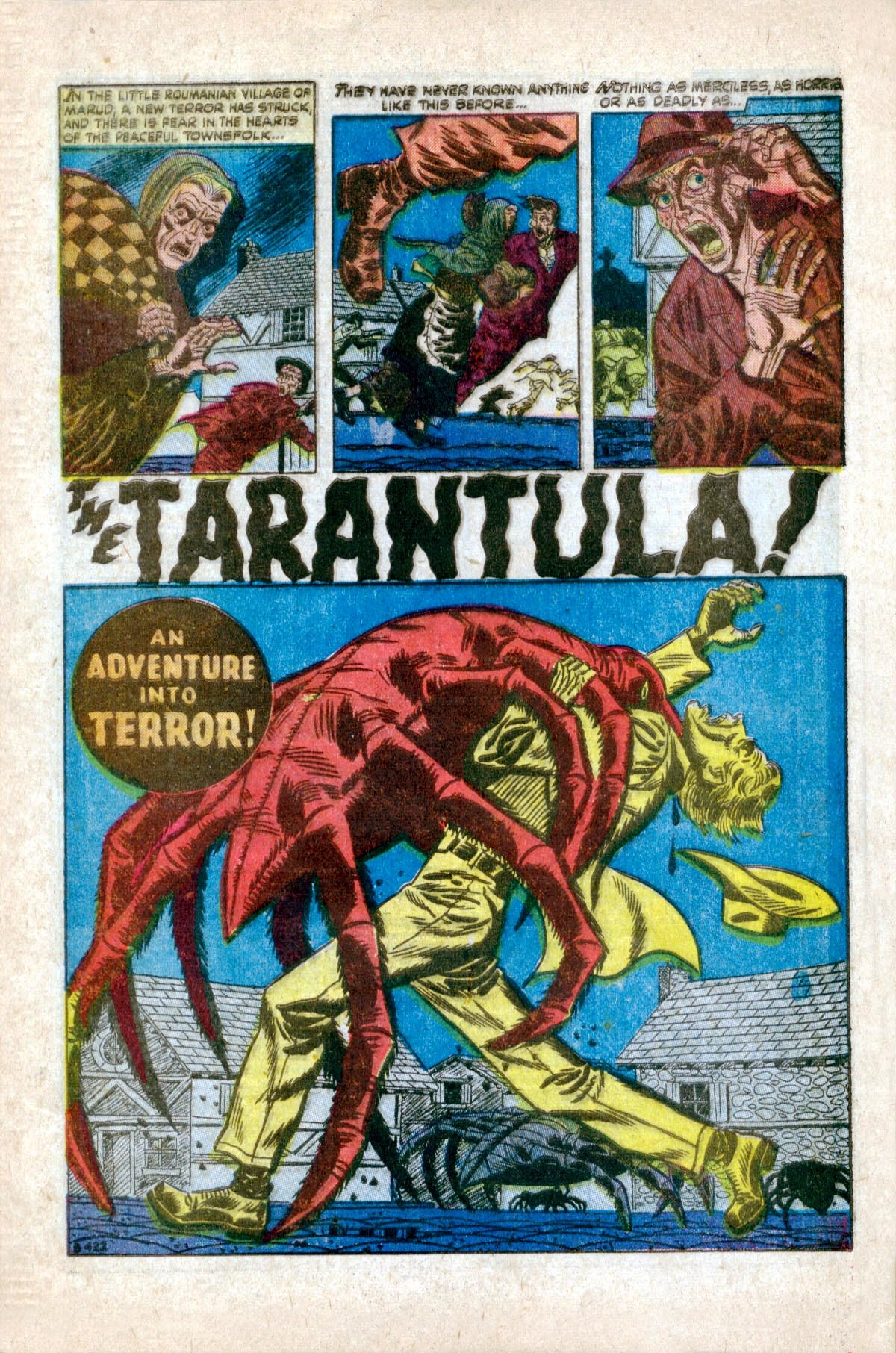 B-422 The Tarantula! Page 1