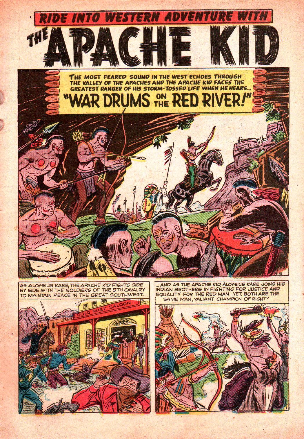 8141 War Drums on the Red River! Page 1