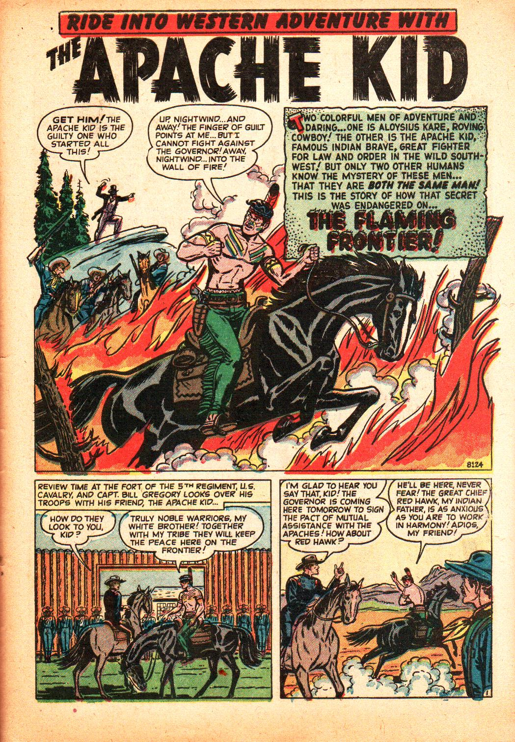 8124 The Flaming Frontier! Page 1