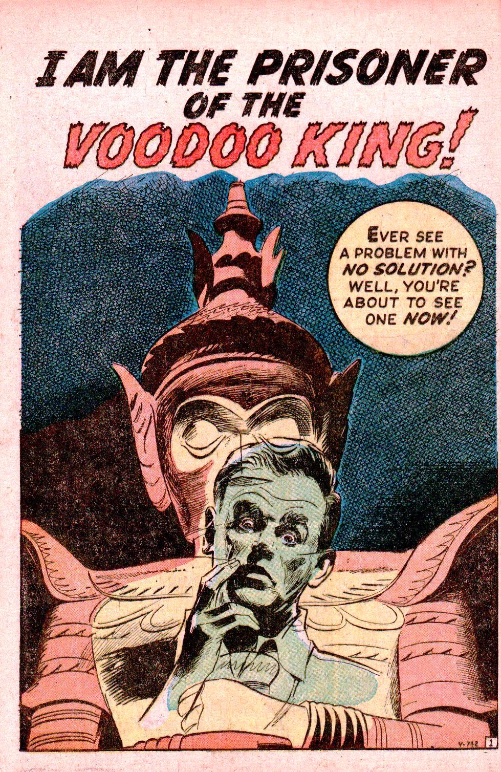 V-742 I Am the Prisoner of the Voodoo King! Page 1