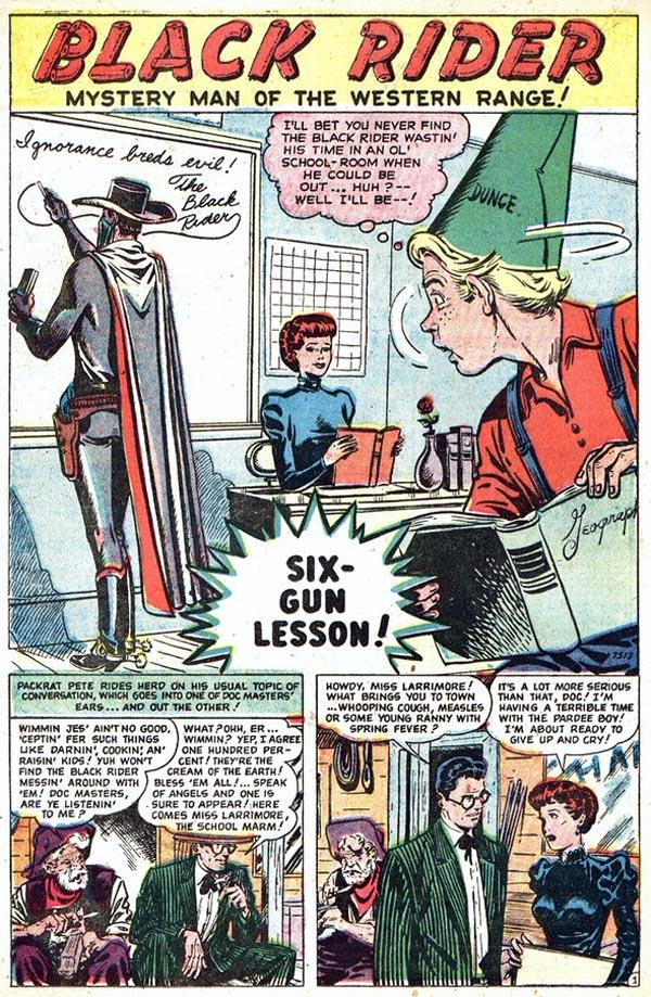 7513 Six-Gun Lesson! Page 1