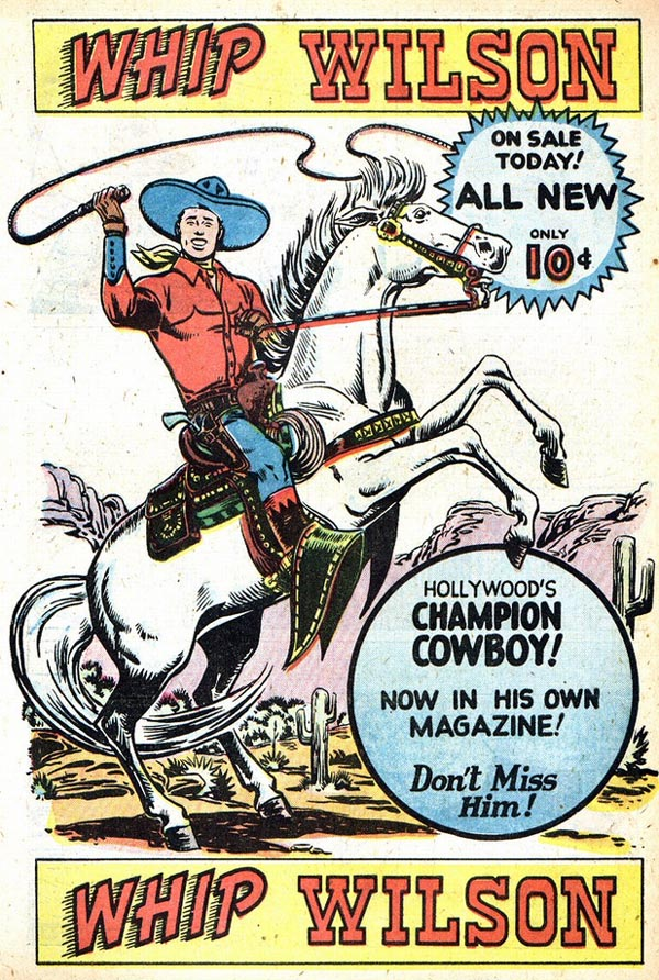 Hollywood's Champion Cowboy! Page 1