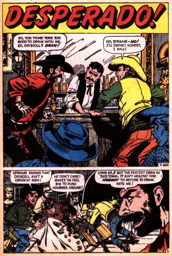T-663 Desperado! Page 1