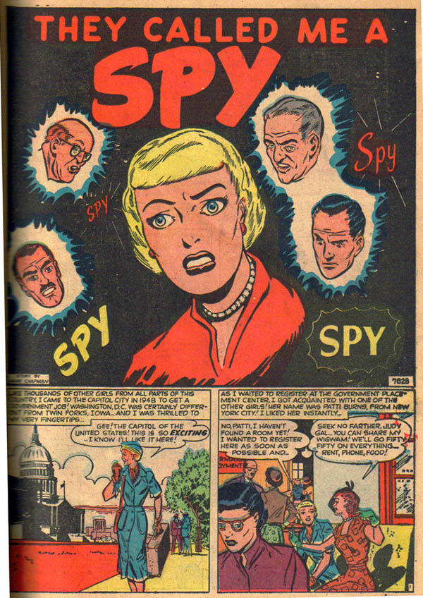 7828 They Called Me a Spy Page 1