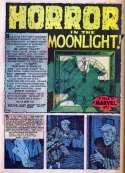 A-414 Horror in the Moonlight! Page 1 print